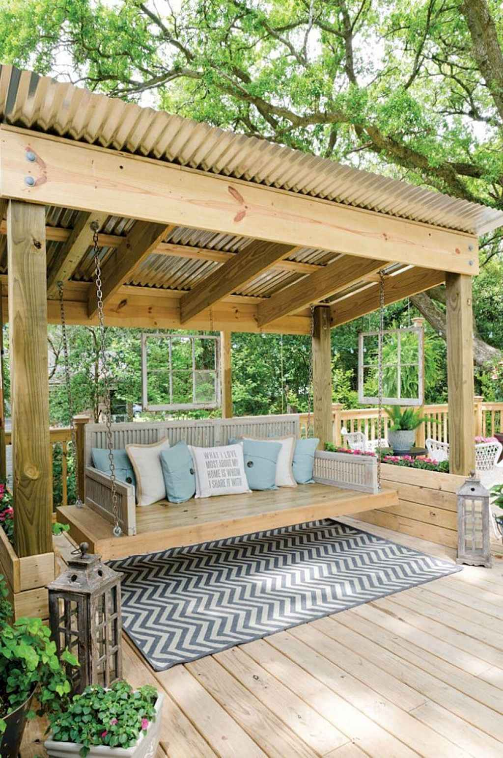Cleverly diy porch patio decorating ideas (48)