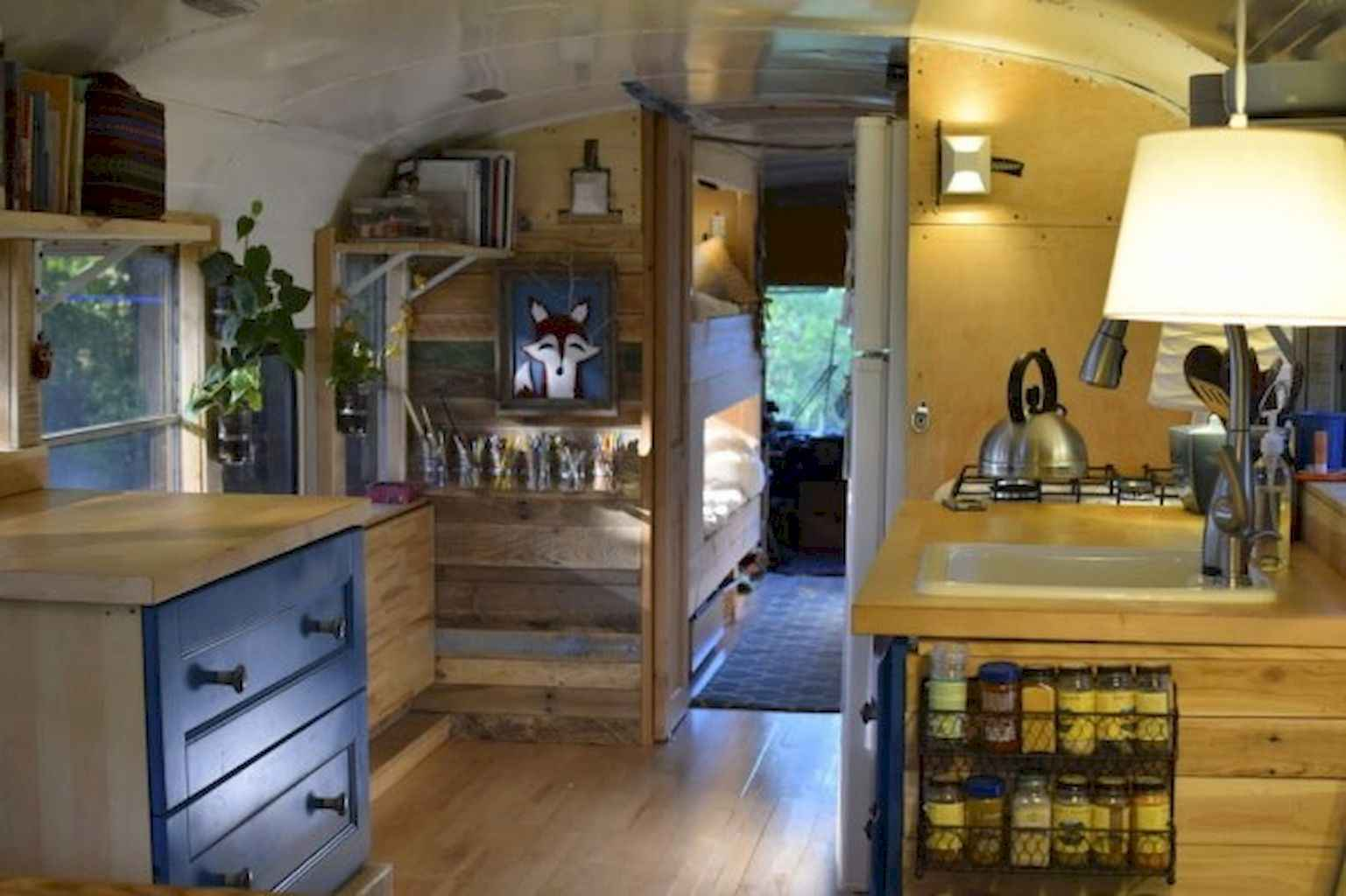 Tiny house bus designs and decorating ideas (117)