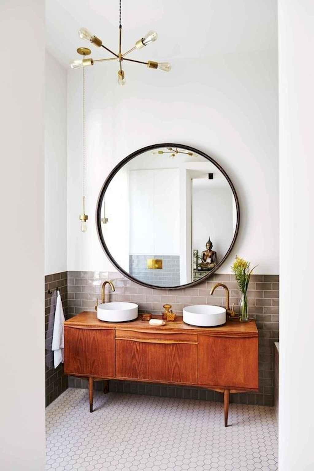 Mid century bathroom decoration ideas 32 homespecially for Mid century bathroom ideas