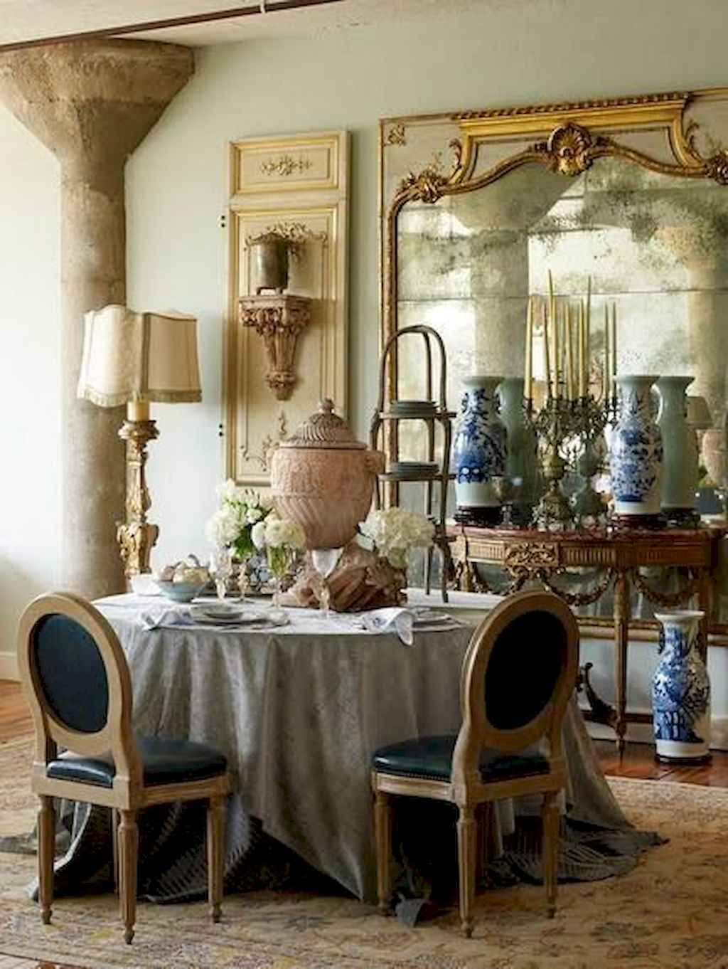 Beautiful french country dining room ideas 64
