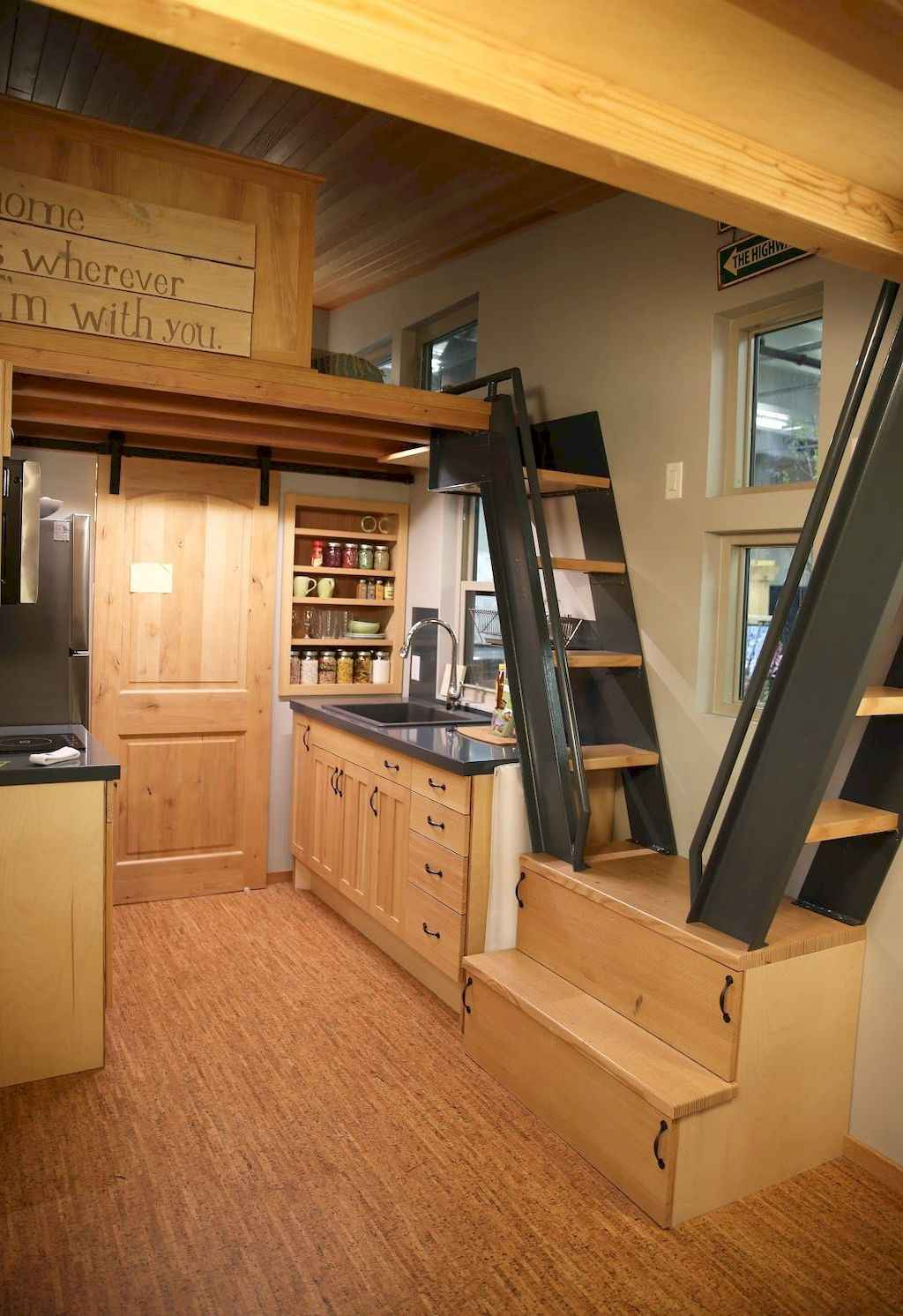 Clever tiny house kitchen decor ideas (65)