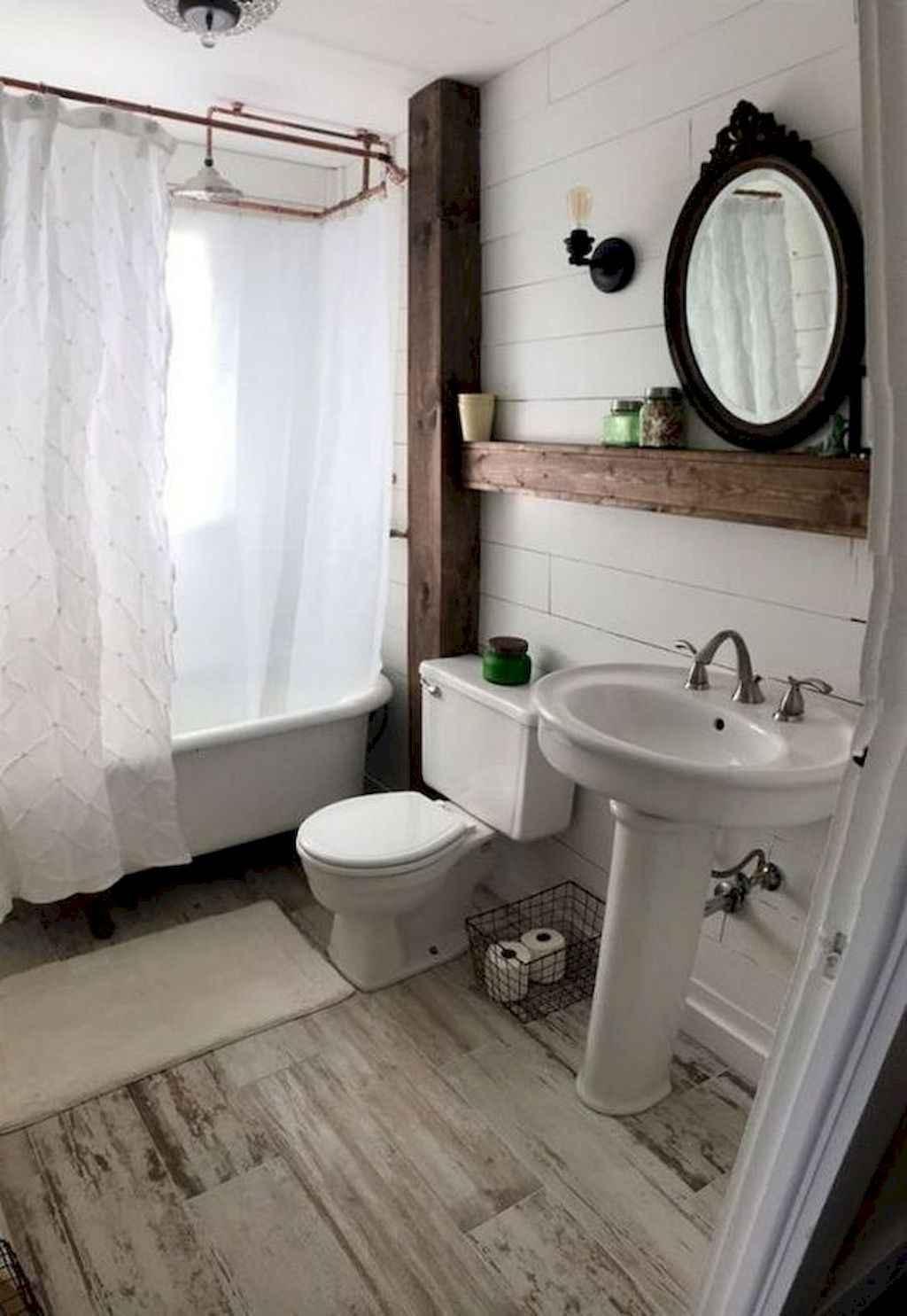 Rustic Farmhouse Master Bathroom Remodel Ideas 53 Homespecially
