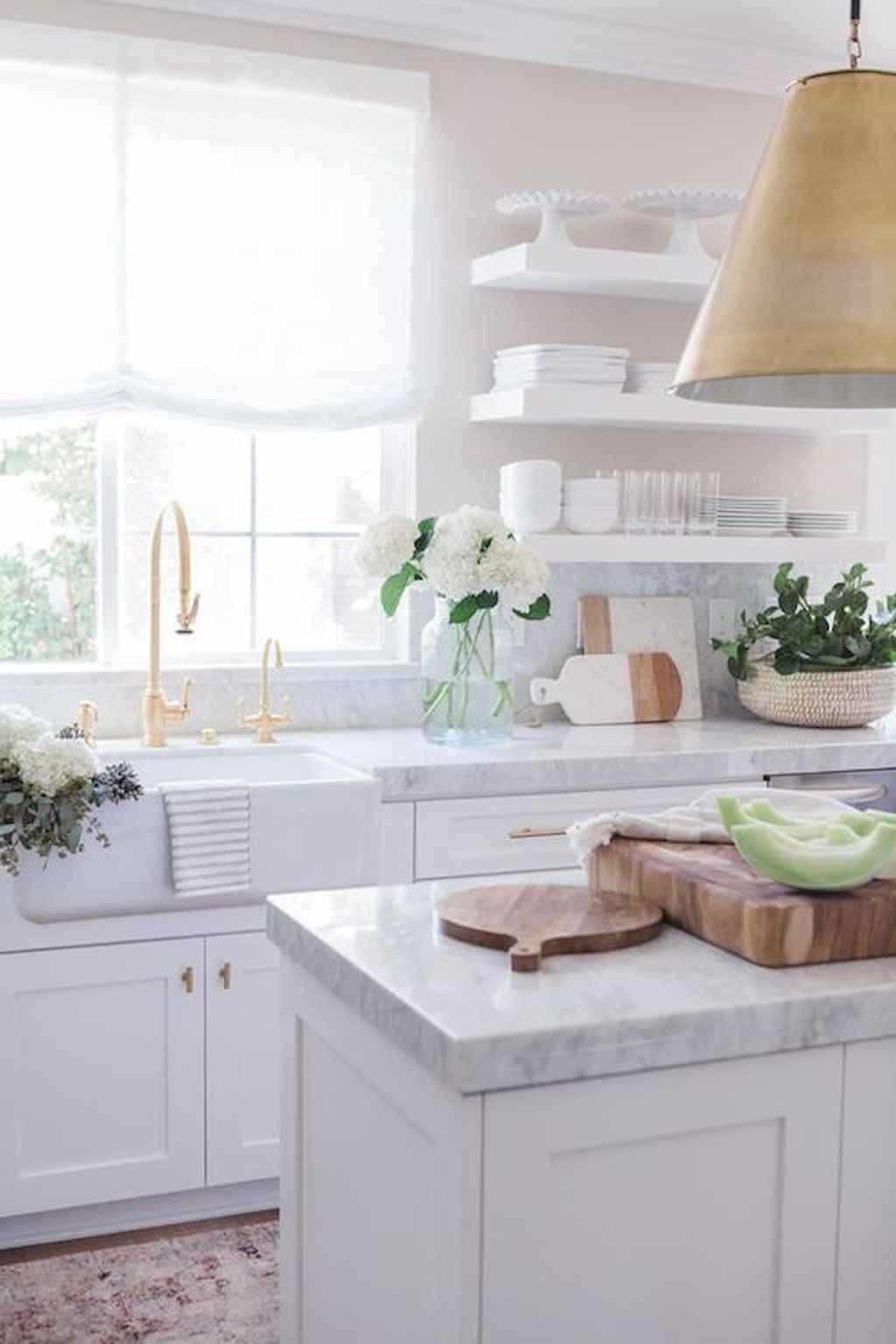 White kitchen cabinet design ideas (88)