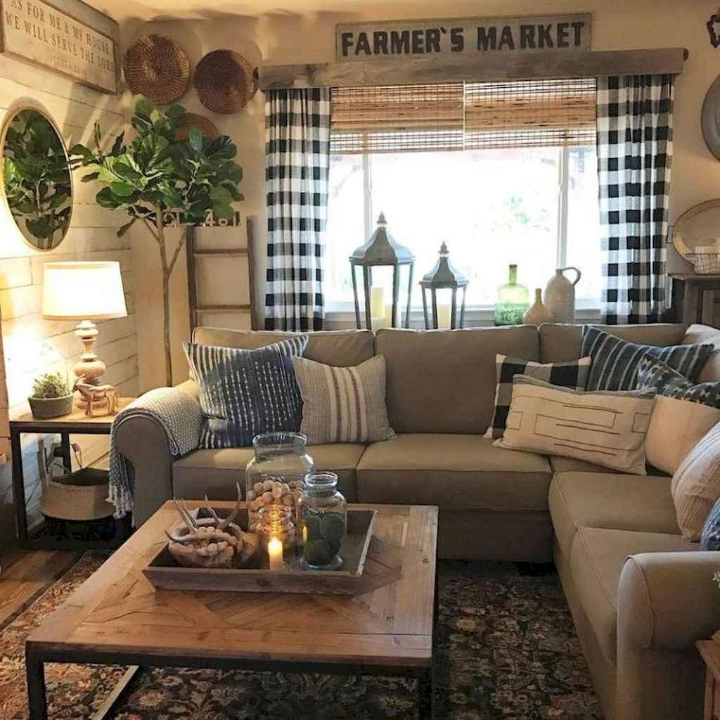 43 Cozy Modern Farmhouse Living Room Decor Ideas Homespecially