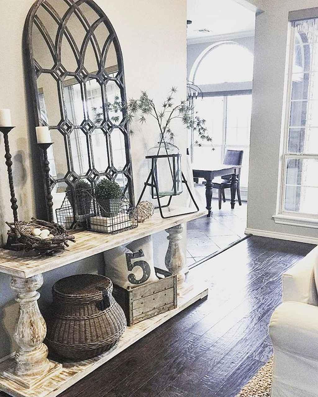 Foyer Decor Ideas : Inspiring farmhouse entryway decor ideas homespecially