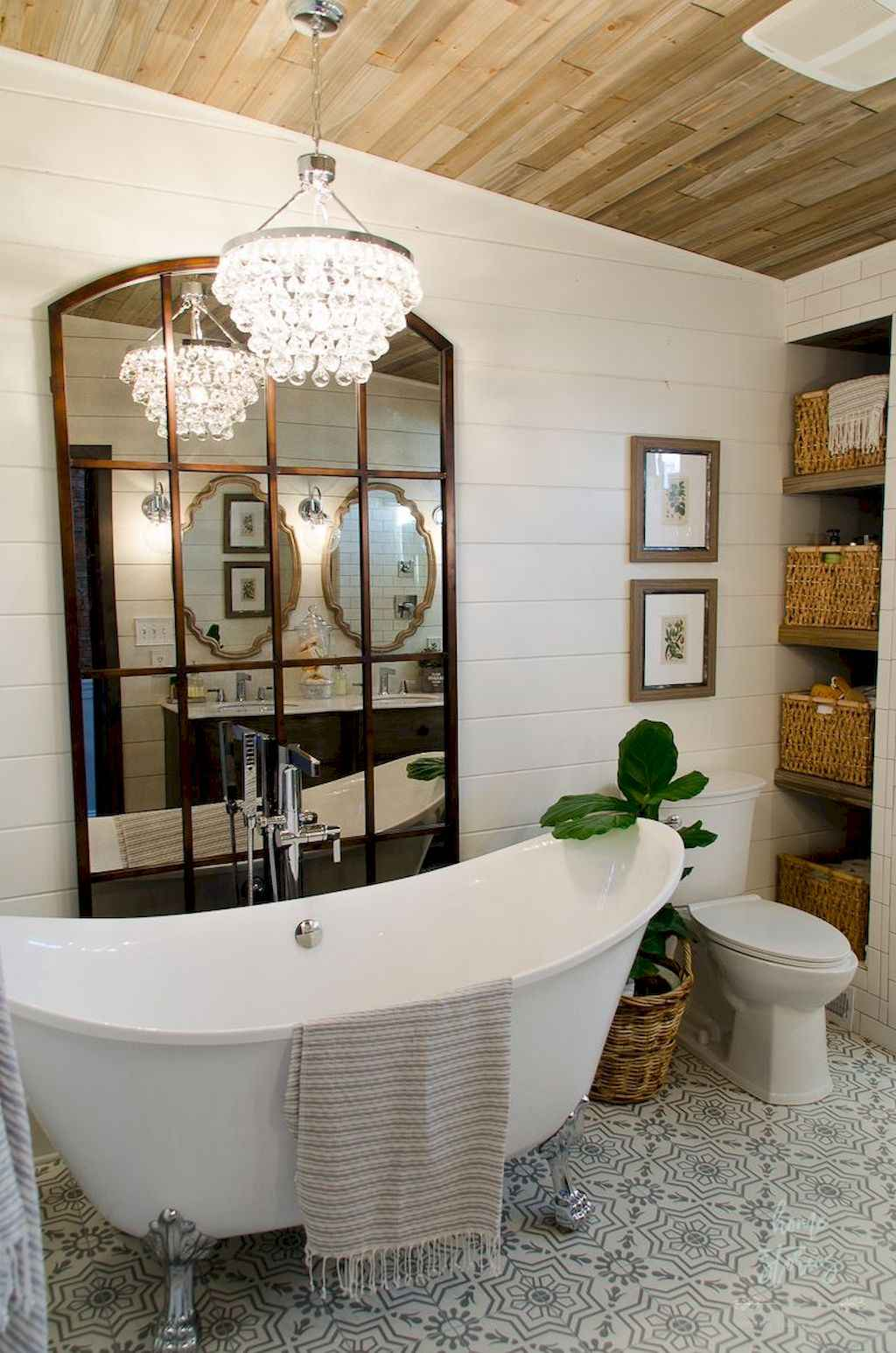 75 best farmhouse bathroom remodel decor ideas