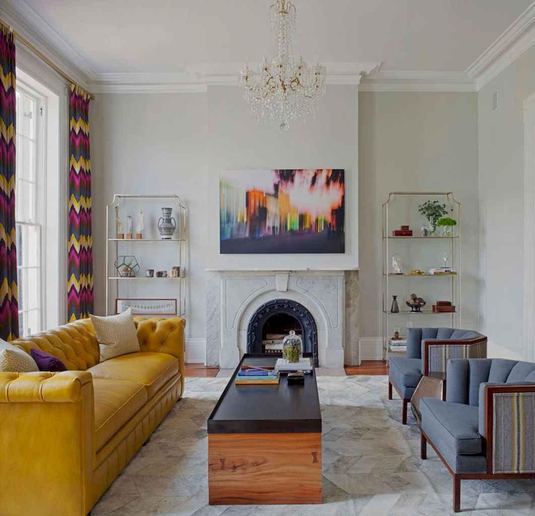 23 inspiring yellow sofas for living room decor ideas - HomeSpecially