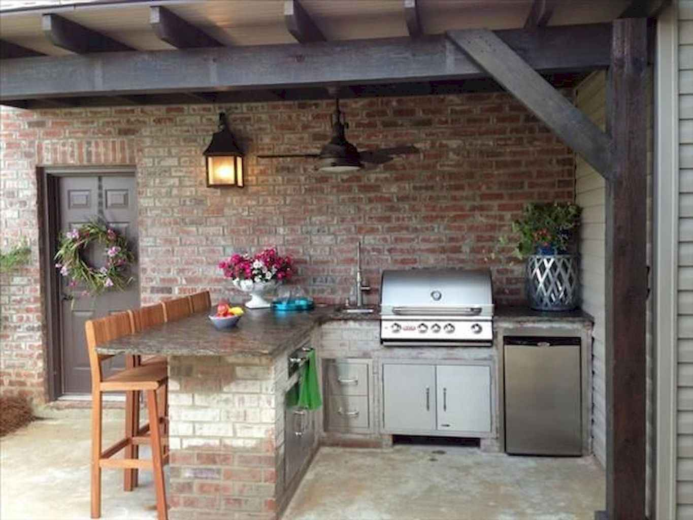 33 fantastic outdoor kitchen design for your summer ideas