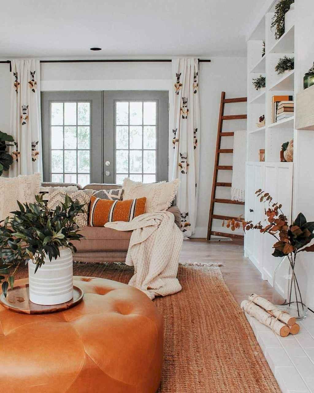 85 Best Modern Farmhouse Living Room Curtains Decor Ideas ...
